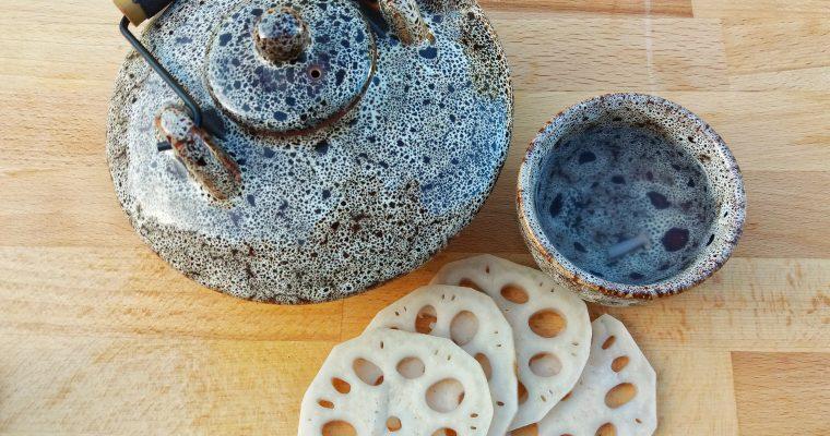 Chá de raiz de lótus